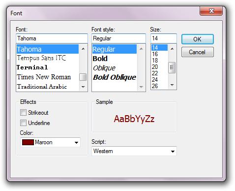 windowsfontdialog